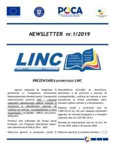 Prezentarea proiectului LINC